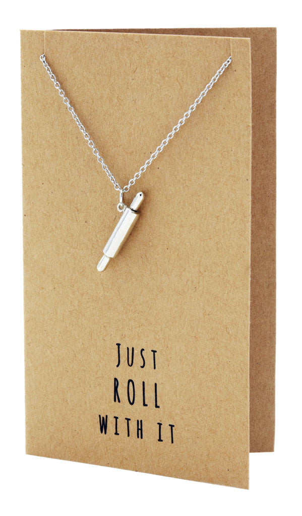Jamie Chef Jewelry with Rolling Pin Pendant,  - Quan Jewelry - 6