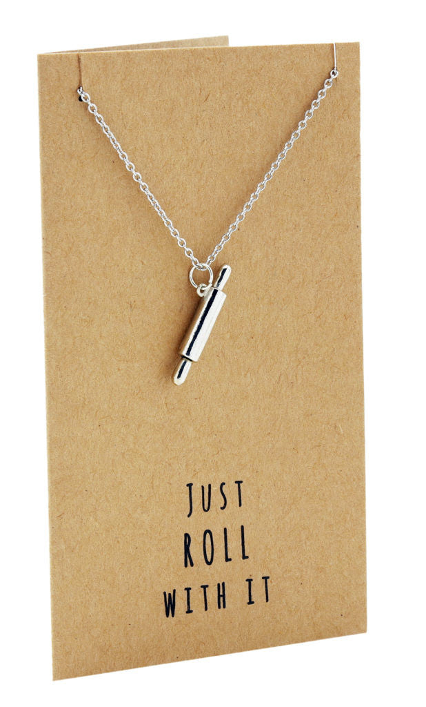Jamie Chef Jewelry with Rolling Pin Pendant,  - Quan Jewelry - 7