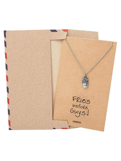 Shenelle Fries Jewelry Charm Necklace