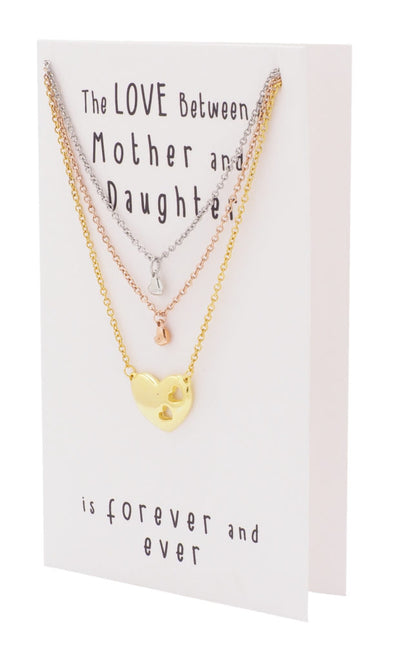 Mother Daughter Jewelry Set (3-pc necklace)