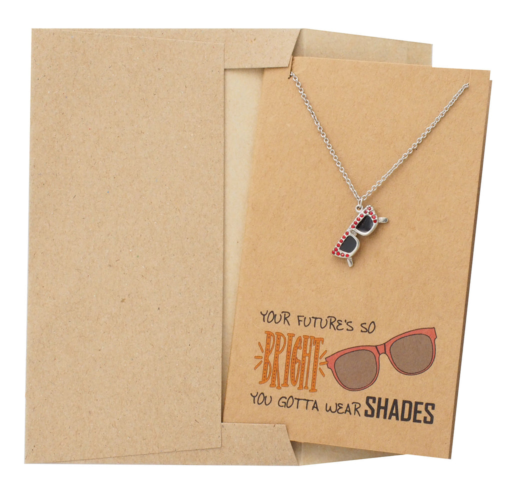 Perfect Graduation Gift, Jewelry with Greeting Card and Envelope - Quan Jewelry