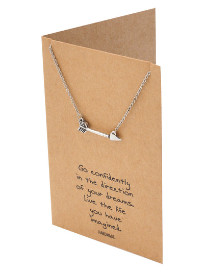 Jedi Arrow Charm Necklace