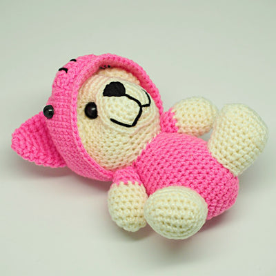 Avery Piggy Crochet Teddy Bear