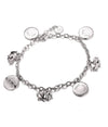 Ophelia Charm Bracelet, Baa Baa Black Sheep Charms, 925 Sterling Silver