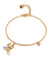 Celeste Banana Bracelet for Women, Banana Charms, 18k Yellow Plated - Quan Jewelry