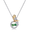 Ximena Bird Charm Necklace for Women, Mothers Day Gifts