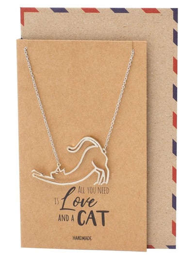 Lilith Cat Pendant Necklace