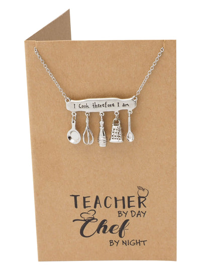 Jurie Engraved Gifts for Teachers and Chefs