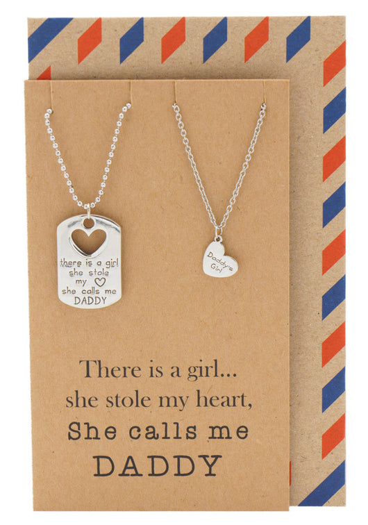 Greatest Mason Father Daughter Personalized Engraved Necklaces, Father's  DV83