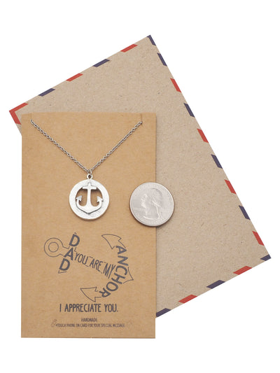 Appreciation Necklace With Greeting Card