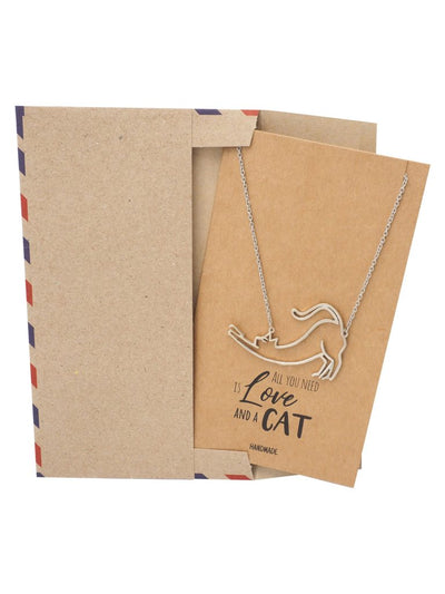 Gifts for Cat Lovers with Greeting Card