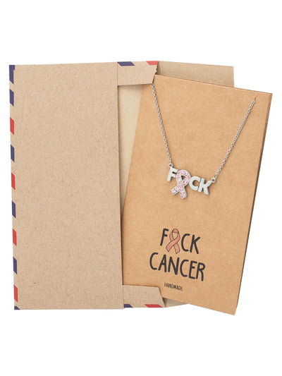Izza Cancer Awareness Jewelry, Best Gift for Cancer Survivor - Quan Jewelry