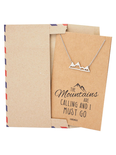 Mountains Jewelry Gift