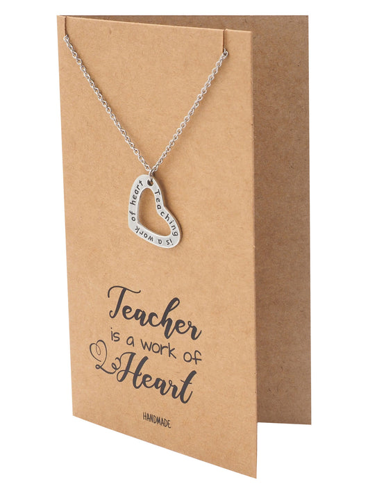 Lucia Teacher Quotes Gifts Inspirational Jewelry And Thank You Cards Unique Thank You Teacher Quotes