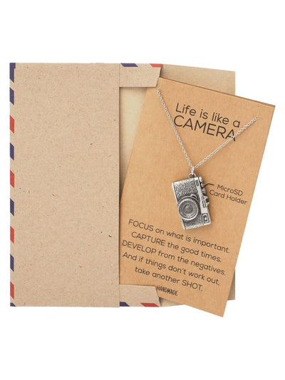 Marley Mini Camera Necklace