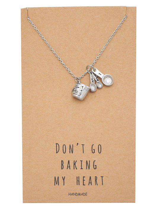 Carmel Kitchen Expansion: Carmel Gifts For Mom Bakers Kitchen Charm Necklace Funny