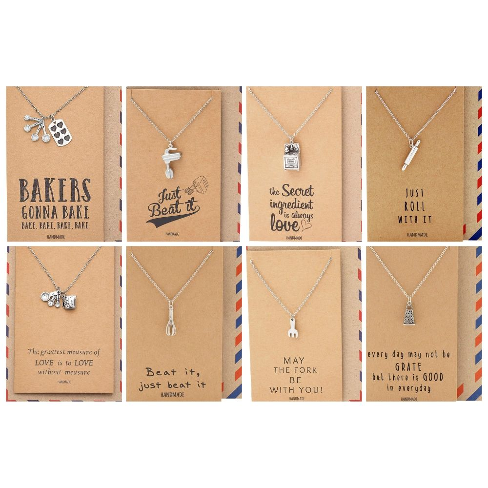 Kaylee Baker Necklace Bundle Gift Set, Best Gift for Cook and Bakers