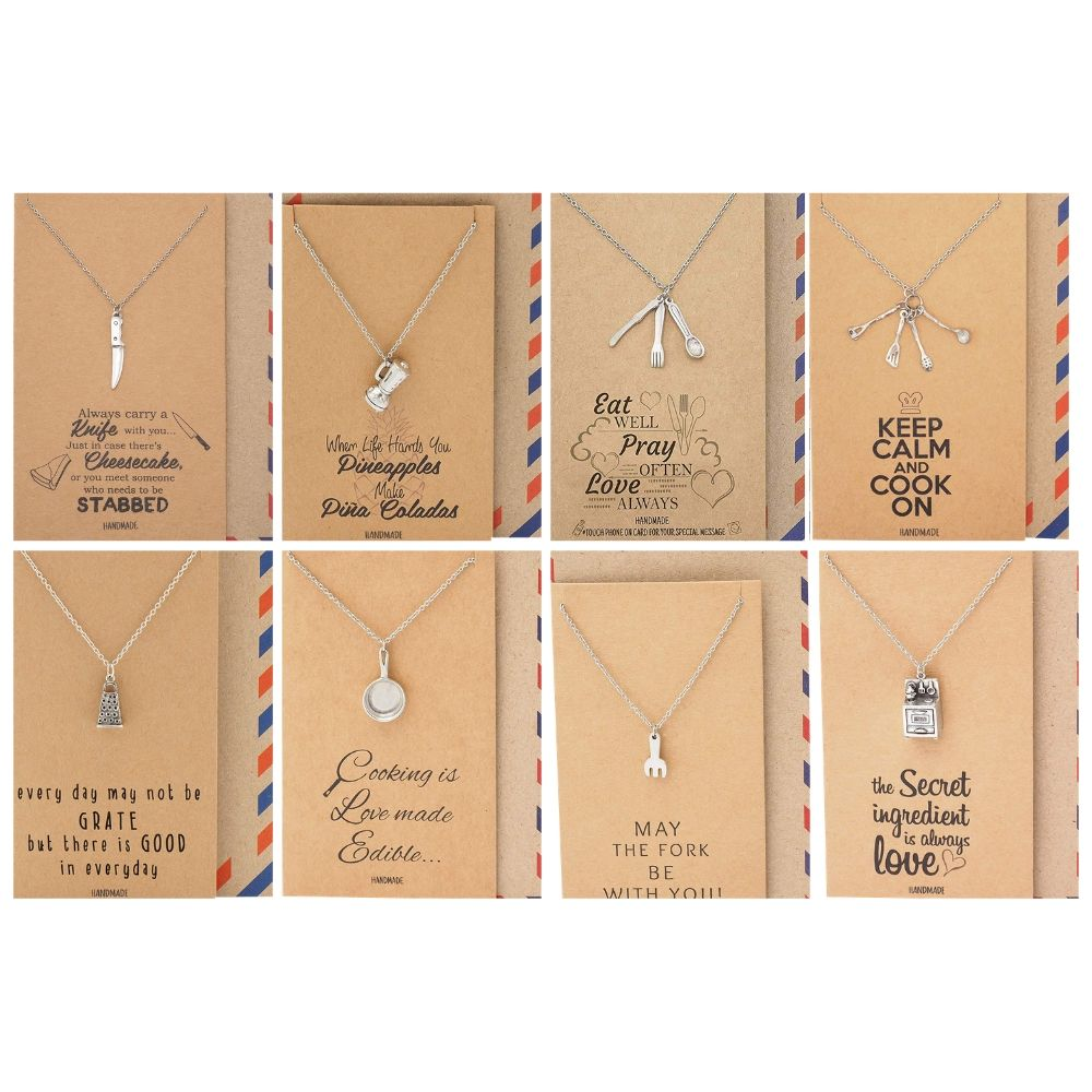 Taylor Chef Necklace Bundle Gift Set