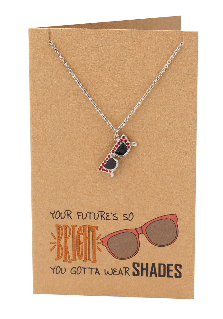 Sunglasses Necklace, Adjustable from 16 inches to 18 inches - Quan Jewelry