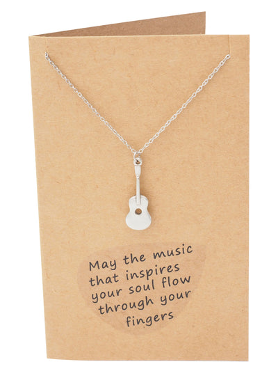 Jada Guitar Necklace