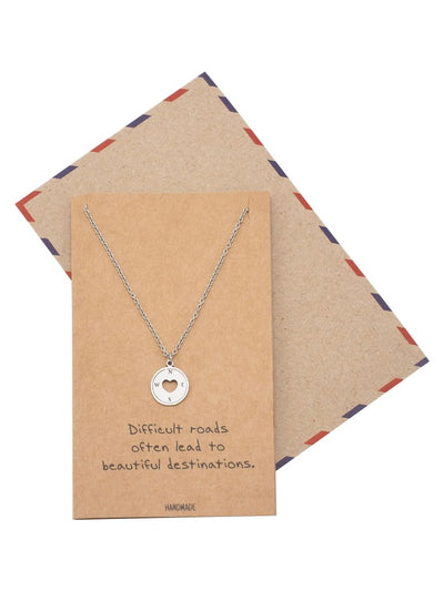 Althea Compass Necklace