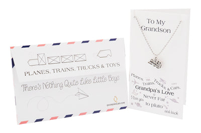 Happy Birthday Card Gifts for Grandson from Grandpa - Quan Jewelry