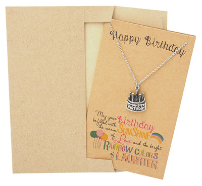 Cake Jewelry and Greeting Card