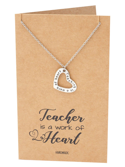 Mercia Heart Shaped Pendant Necklace