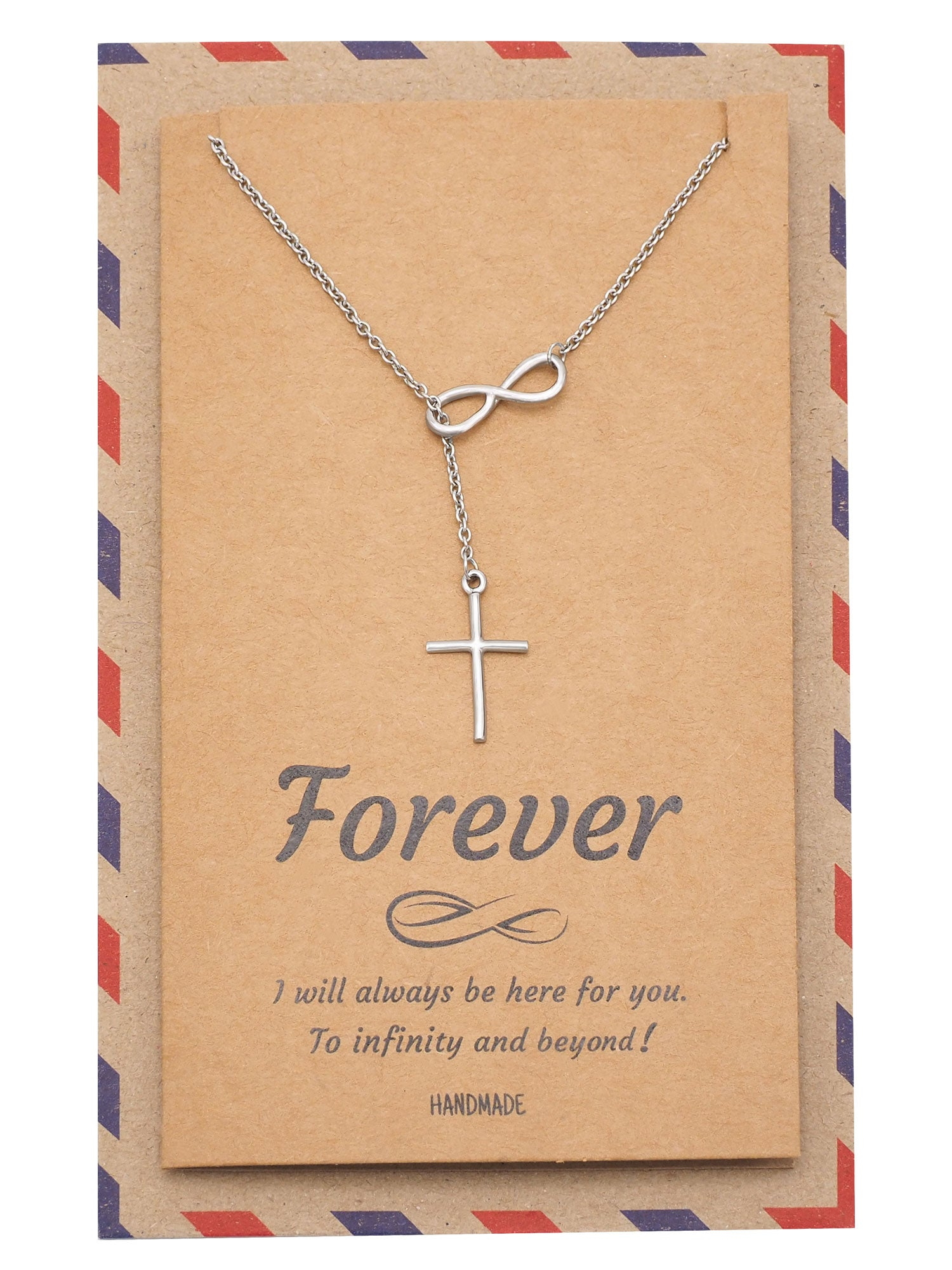 Christ Infinity Cross Necklace