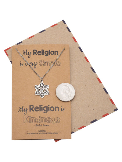 Religious Jewelry with Greeting Card