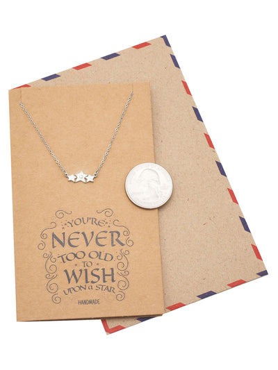 Twila Sisters Necklaces, Gifts for Sister Quotes Jewelry Greeting Card