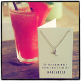 Mela Funny 30th Birthday Cards, Margarita Jewelry Charm Necklace,  - Quan Jewelry - 7