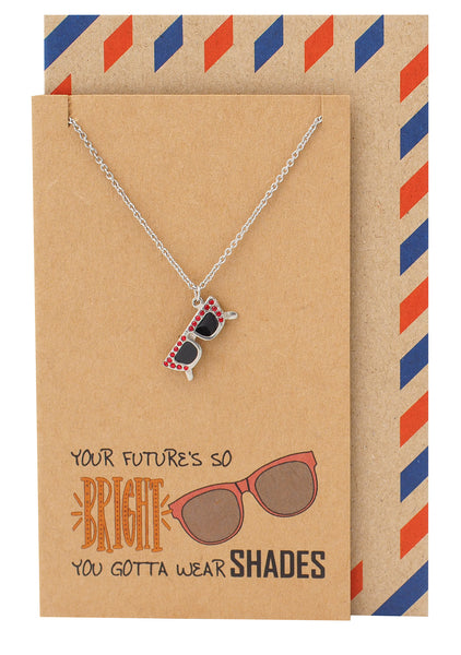 Meg Graduation Gifts, Funny Birthday Cards, Sunglasses Necklace - Quan Jewelry