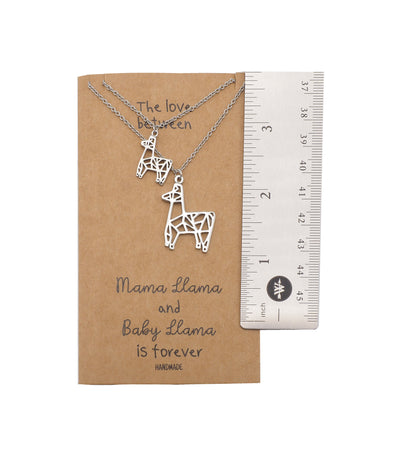 Baby Llama Pendants 2 sets of Necklace