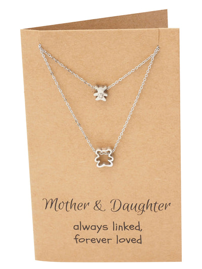 Arianna Mother Daughter Necklace