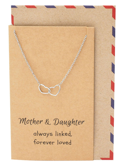 Stella Mother Daughter Necklace