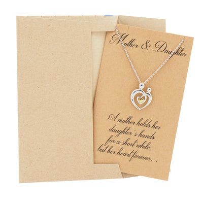 Mothers Day Jewelry with Greeting Card