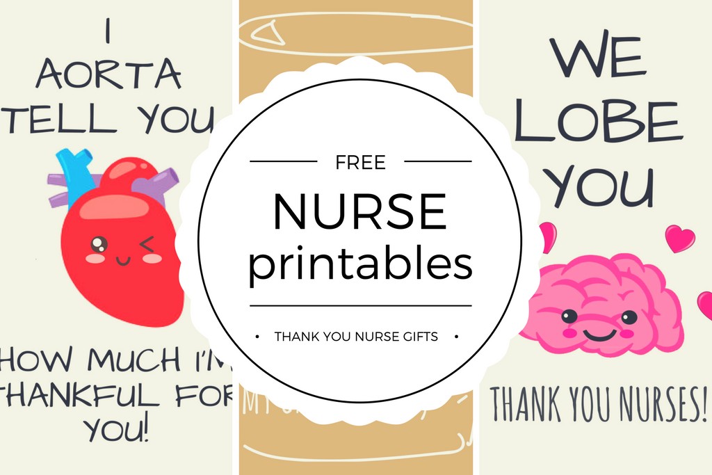 Free Printable Nurse Appreciation Thank You Cards - Quan Jewelry