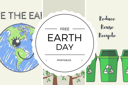Free Earth Day Printables - Quan Jewelry