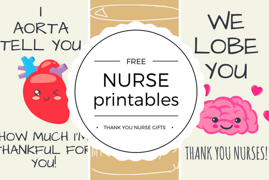 Free Printable Nurse Appreciation Thank You Cards Quan Jewelry