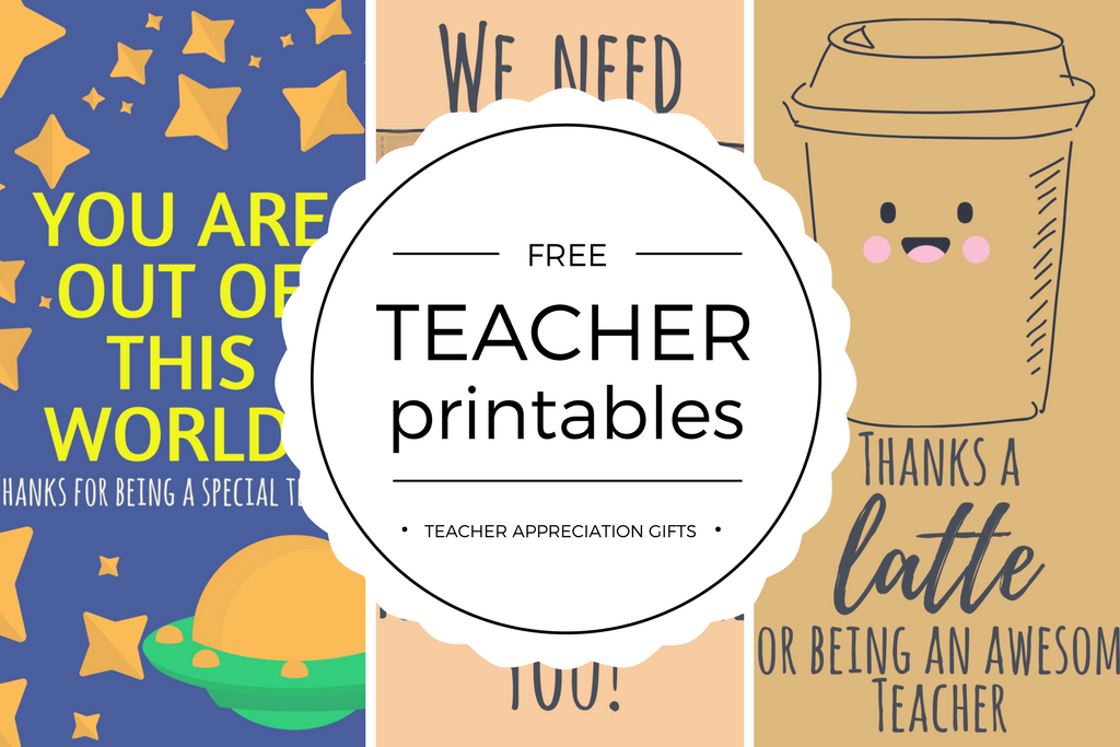 Free Printable Teacher Appreciation Thank You Cards