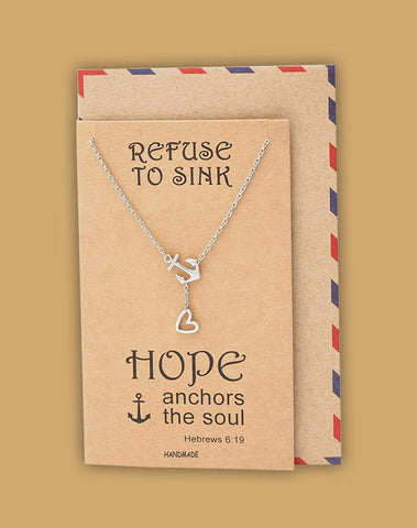 Let hope energize and mobilize you  Refuse to sink