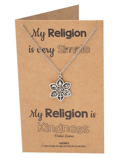 Romina Religion Pendant Necklace