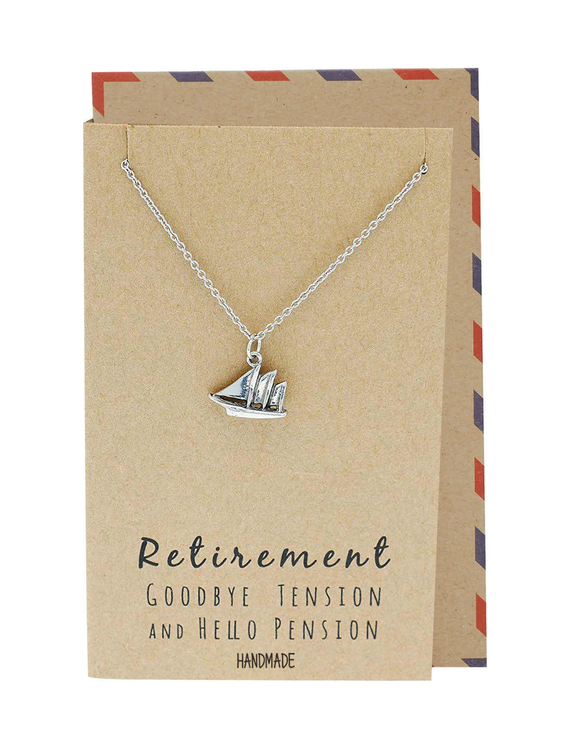 Murielle Sailboat Necklace