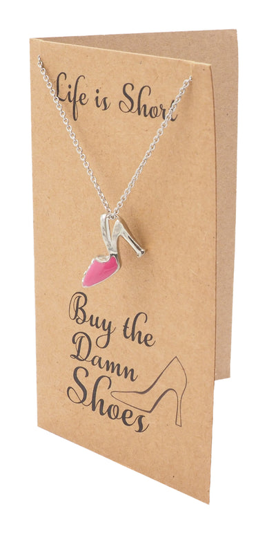 Aimee Shoe Jewelry Charm Necklaces for Women
