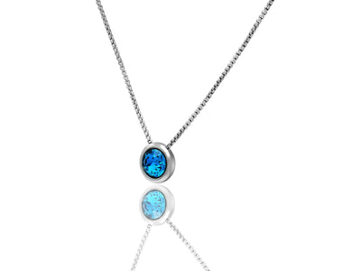 Wanda Swarovski Crystal Pendant Necklaces