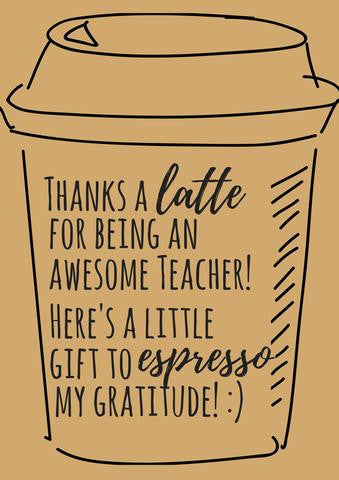 image relating to Free Printable Teacher Appreciation Quotes named Totally free Printable Instructor Appreciation Thank Yourself Playing cards - Quan