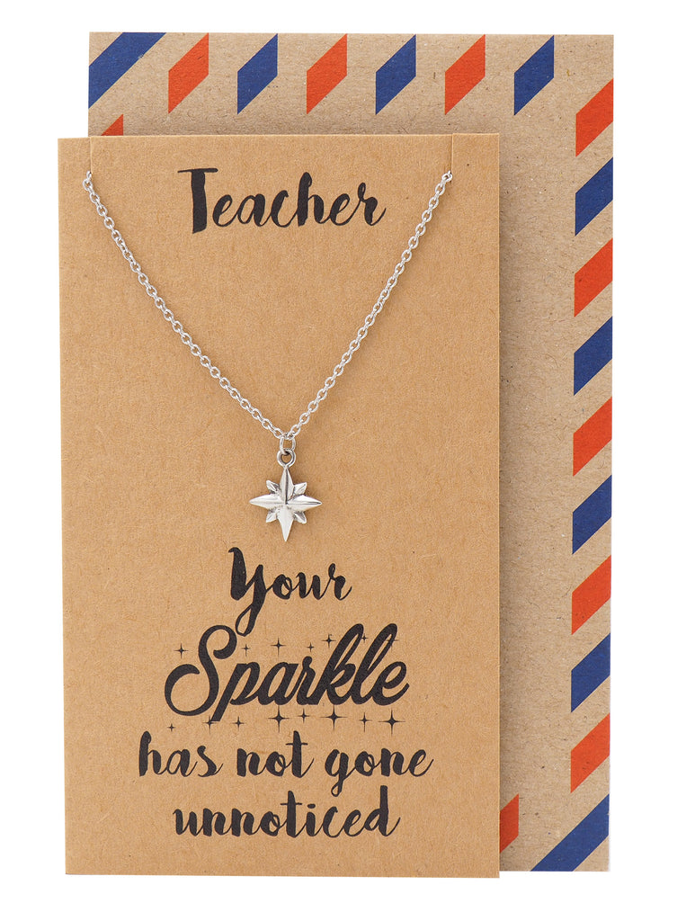 Bethany Teacher Gifts, Sparkle Jewelry and Thank You Cards