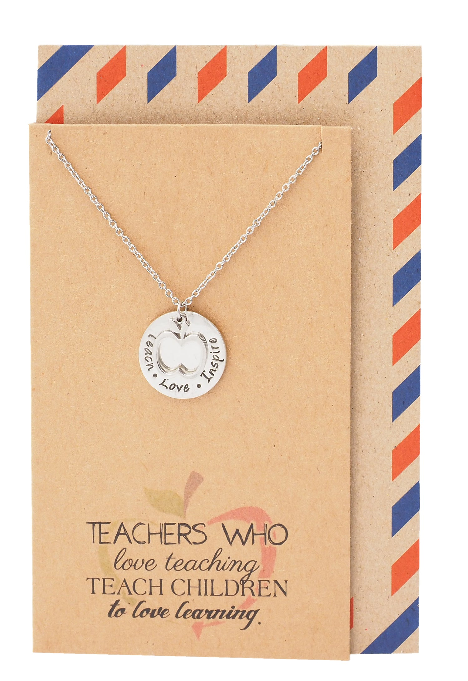 Krissana Teach Love Inspire Necklace