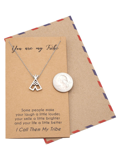 Ingrid Teepee Best Friend Necklace